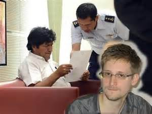 Morales and Snowden