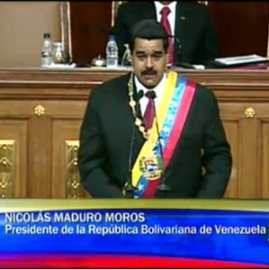 Maduro sworn in as President