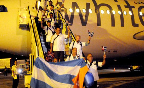 Cuban doctors return