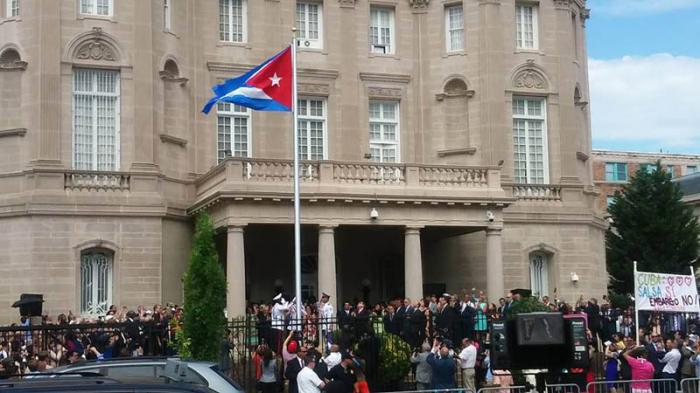 Cuban embassy in Washington