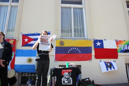 Defending the Venezuelan embassy