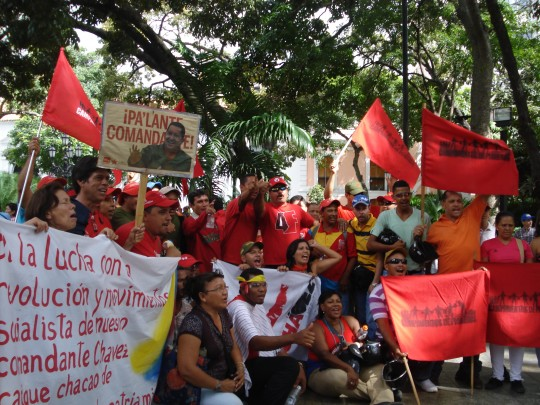 Sunday 9 December: Venezuelans demonstrate their solidarity with Chavez prior to his operation