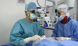 Free eye surgery through Operation Miracle
