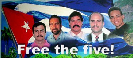 free the five with flag f cadena agramonte