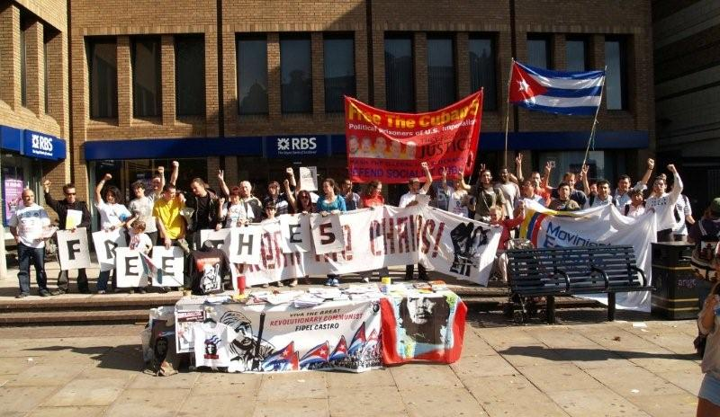 Cuban 5 event at Angel st