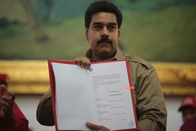 Maduro passes a wave of new laws