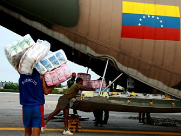 Venezuela sends a humanitarian mission to Nepal