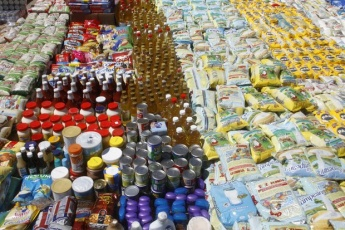 Siezed foodstuffs in the battle against hoarding