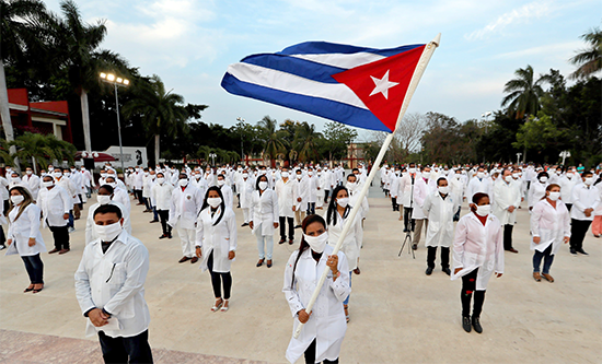 Cuban medical brigade