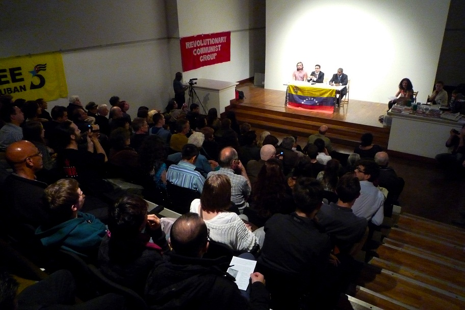 Bolivar Hall was packed out for the Viva Venezuela premiere