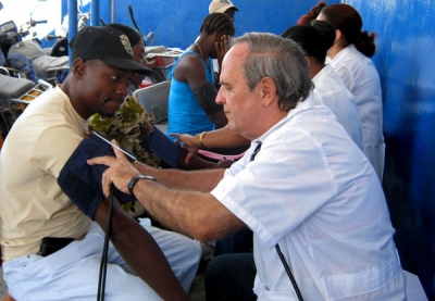 Cuban doctors in Haiti