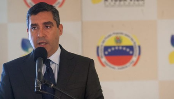 Minister of Interior Miguel Rodriguez Torres