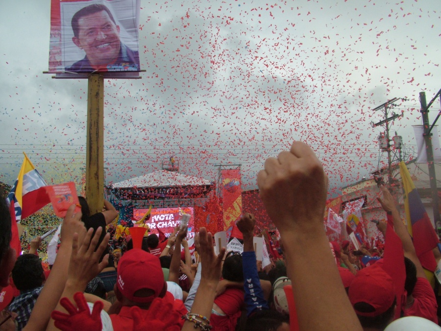 Massive Rally in Merida State in Support of Hugo Chavez 2012 [Venezuelanalysis]