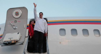 US airspace denied to Maduro