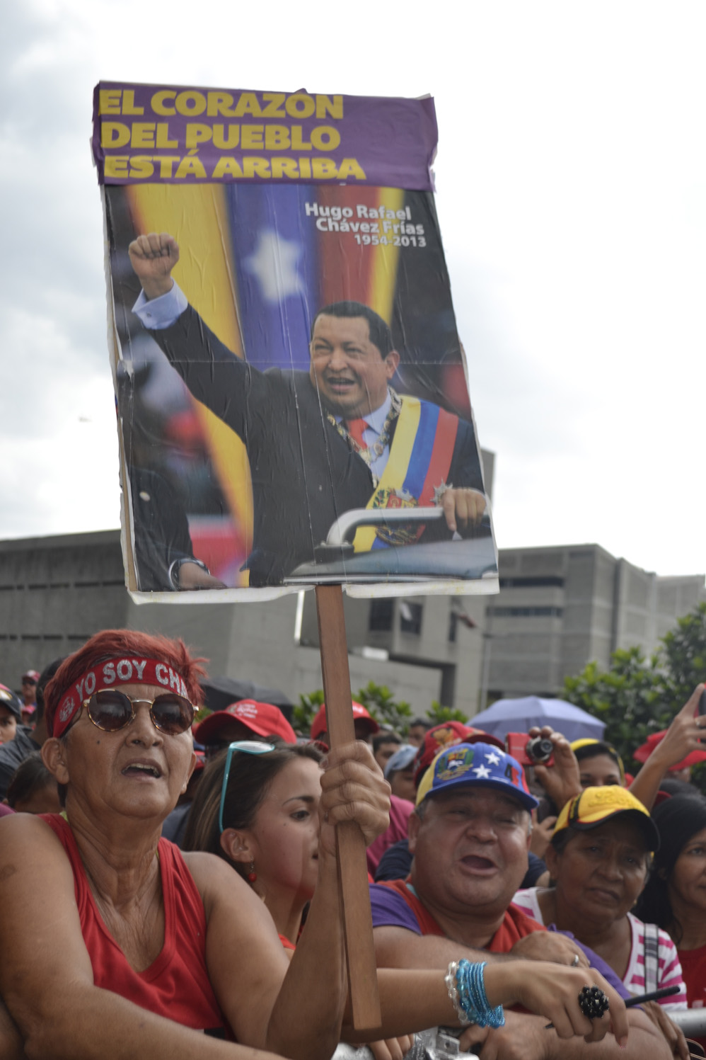 In memory of Hugo Chavez