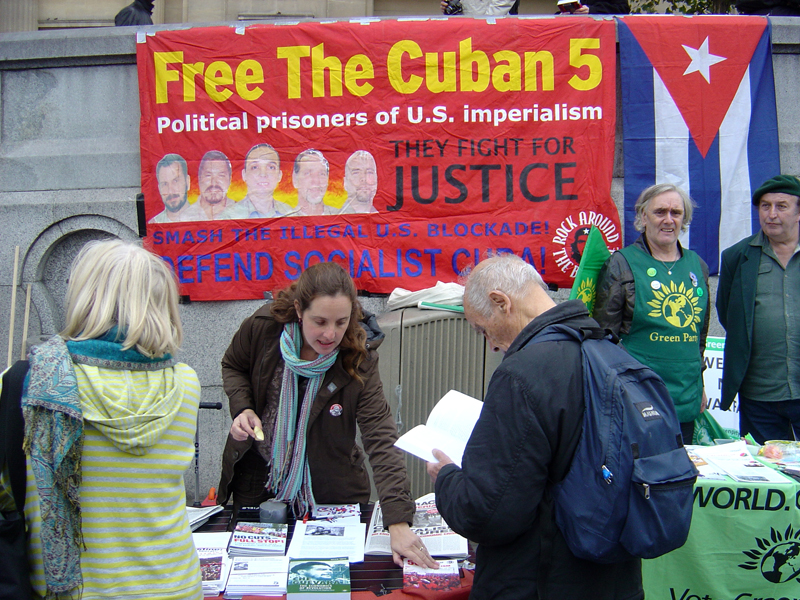 Rock around the Blockade highlights case of the Cuban Five on 10th anniversary of the 'war on terrorism'
